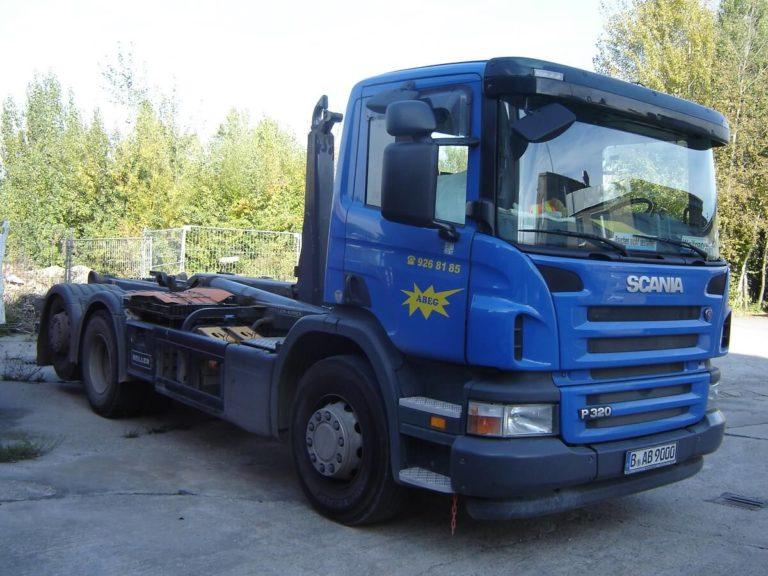 ABEG-Containerdienst Berlin -LKW
